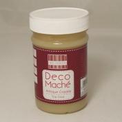 Deco Mache Antique Crackle Top Coat Tub Tissue Patch