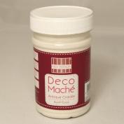 Deco Mache Antique Crackle Base Coat Tub First Edition Trimcraft Tissue Patch