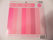 Craft Smith 15cm x 15cm Singled Sided Paper - Pinks