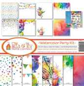 Ella & Viv by Reminisce EAV-925 Ella & Viv Watercolour Party Kit