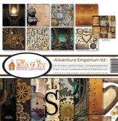 Ella & Viv by Reminisce EAV-924 Ella & Viv Adventure Emporium Kit