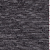 Black/Silver Crinkle Mesh, Fabric Sold By the Yard