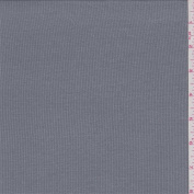 Stone Grey Rayon Rib Knit, Fabric Sold By the Yard