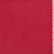Fiesta Red Rib Jersey Knit, Fabric Sold By the Yard