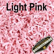 Mighty Gadget (R) 0.5kg Light Pink Crinkle Cut Paper Shred Filler for Gift Wrapping & Basket Filling