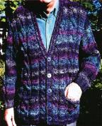 Chris Bylsma Designs Knitting Pattern - Wisconsin Weekend - Unisex Cardigan, 100cm - 140cm