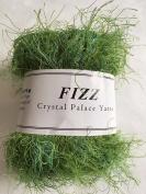 Crystal Palace Fizz #9421 Grass Greens - Green Medley Eyelash Yarn