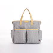 PERRY MACKIN WATER RESISTANT JAMIE nappy TOTE BAG