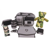 Tactical Baby Gear Military Style Full Load Out 2.0 MOLLE Nappy Bag Set