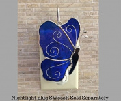 Switchables Blue Butterfly Glass Cover