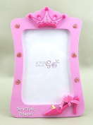 20cm PRINCESS CROWN 4x 6 PHOTO FRAME - NEW YORK
