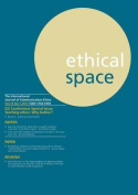 Ethical Space Vol.14 Issue 1