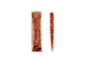 Crown Brush Pro Slanted Metal Tweezers DTWTIGER TIGER PRINT TWEEZER