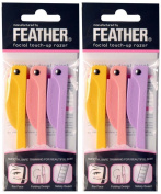 Feather Flamingo Facial Touch-up Razor