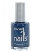 Maternity Blue Jeans - Knocked Up Nails - Maternity Pregnancy Safe Nail Polish - Vegan & Gluten-Free - 5-Free …