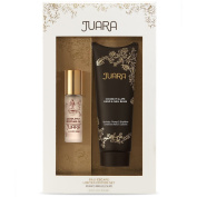 Juara Bali Escape Limited Edition Set Includes Coconut Illipe Hand and Nail Balm and Candlenut Perfume Oil