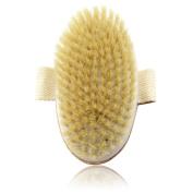 IBEET Dry Body Brush,Natural Bristle,3 Soft Style Exfoliating Scrub Brush For Remove Dead Skin