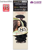 New Born Free BVP8A16 Brazilian Virgin Remi - Spanish Wave 8A Remi Human Hair 30cm ,36cm ,41cm , 46cm Natural Black length Weave Extention By CHADE
