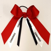 Custom Mascot Small Hair Bow, Made in the USA, Pick your Mascot & Colours, Black Pony Band …