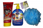 Paw Patrol Bath Bundle - 3-Items