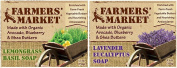 Farmers' Market Natural Bar Soaps Combo Pack