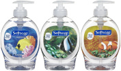 Softsoap Antibacterial Liquid Hand Soap Aquarium Edition 3 Pack 220ml each