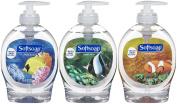 Softsoap Antibacterial Liquid Hand Soap Aquarium Edition 3 Pack 220ml each