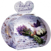 The English Soap Company Luxury Guest Soap English Lavender 3 x 20ml