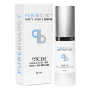 """Pure Biology """"Total Eye"""" - Anti Ageing Eye Cream Infused with Instant Lift Technology & Baobab Fruit Extract"""