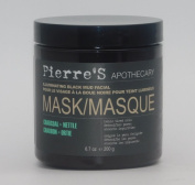 Pierre's Apothecary Illuminating Black Mud Facial Mask Charcoal + Nettle 200ml