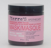Pierre's Apothecary Nourishing Rose Facial Mask Rose Petals + Hibiscus 200ml