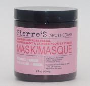 Pierre's Apothecary Nourishing Rose Facial Mask Rose Petals + Hibiscus 200ml