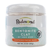 Redmond Clay - Bentonite Clay of 1000 Uses, Soothing Facial Mask, 300ml