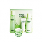 Goodal Waterest Skin Care Set (Goodal Waterest First Essence (150ml),Goodal Waterest Emulsion (130ml),Goodal Waterest Vital Sleeping Pack (30ml),Goodal Moisture Barrier Cream