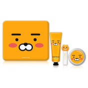 [Kakao Friends] Genuine Lion Character Moisturiser Gift Set / LG / Good For Valentines Day /