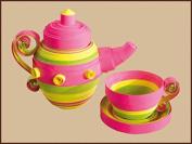 Quilting kit Charivna mit #КВ-015 Teeny weeny ware cup tea