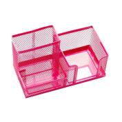 Schoolsupplies 1pcs Stylish Popular Hollow Design Desk Organiser/pen Holder/cell Phone Holder/cosmetic Holder