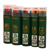 Magicdo 36 Cols Coloured Pencil set for Adults, Artists, Kids Colouring Books, Drawing, Sketching Colour Pencils with Durable Pencil Case, Best Coloured Pencil Sketch, Colour Pencil