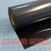 Siser Easyweed Black 38cm x 0.9m Iron on Heat Transfer Vinyl Roll Coaches World