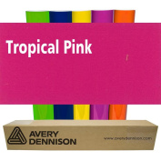 Sign Vinyl Avery PC500 60cm x 5yd for Decal Banners lettering Graphics Windows - TROPICAL PINK