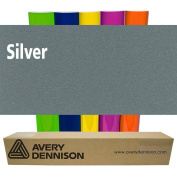 Sign Vinyl Avery PC500 60cm x 5yd for Decal Banners lettering Graphics Windows - SILVER