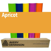 Sign Vinyl Avery PC500 60cm x 5yd for Decal Banners lettering Graphics Windows - APRICOT