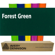 Sign Vinyl Avery PC500 60cm x 5yd for Decal Banners lettering Graphics Windows - FOREST GREEN