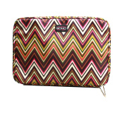 LONDON SOHO NEW YORK Zig Zag Collection Cosmetic Large Organiser