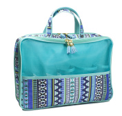Modella Indigo Hues Collection Cosmetic Fitted Weekender