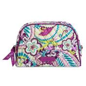 Disney Vera Bradley Plums Up Zip Cosmetic Bag