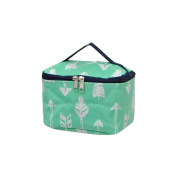 Mint Arrow Print NGIL Cosmetic Case