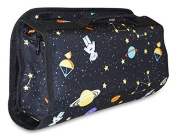 Ever Moda Space Women's Juniors Hanging Toiletry Bag