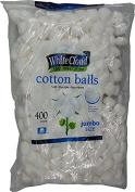White Cloud Cotton Balls 400ct