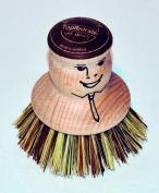 Pot Brush natural Union Fibre from same Brushmaker as Bürstenhaus Redecker
